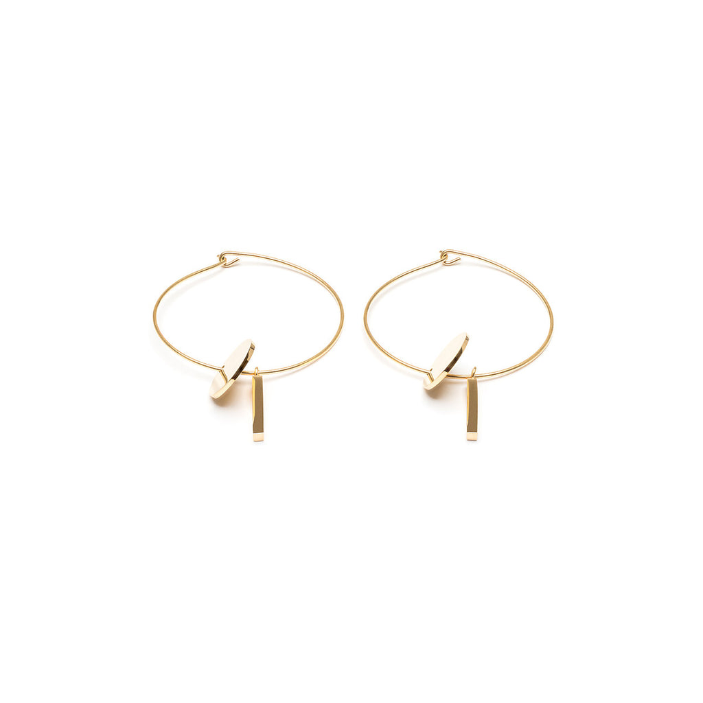 Pendant Hoop Earrings - Simply Whispers