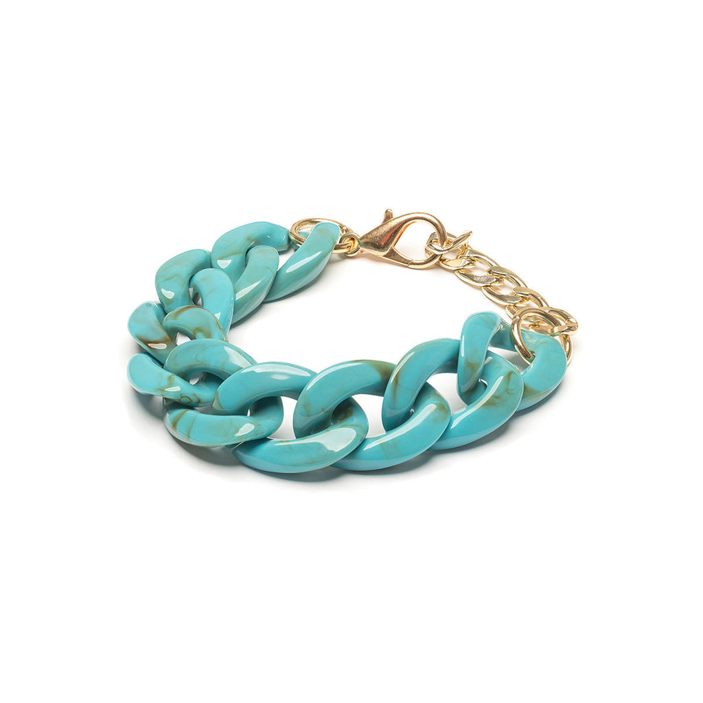 Turquoise Chunky Bracelet - Simply Whispers