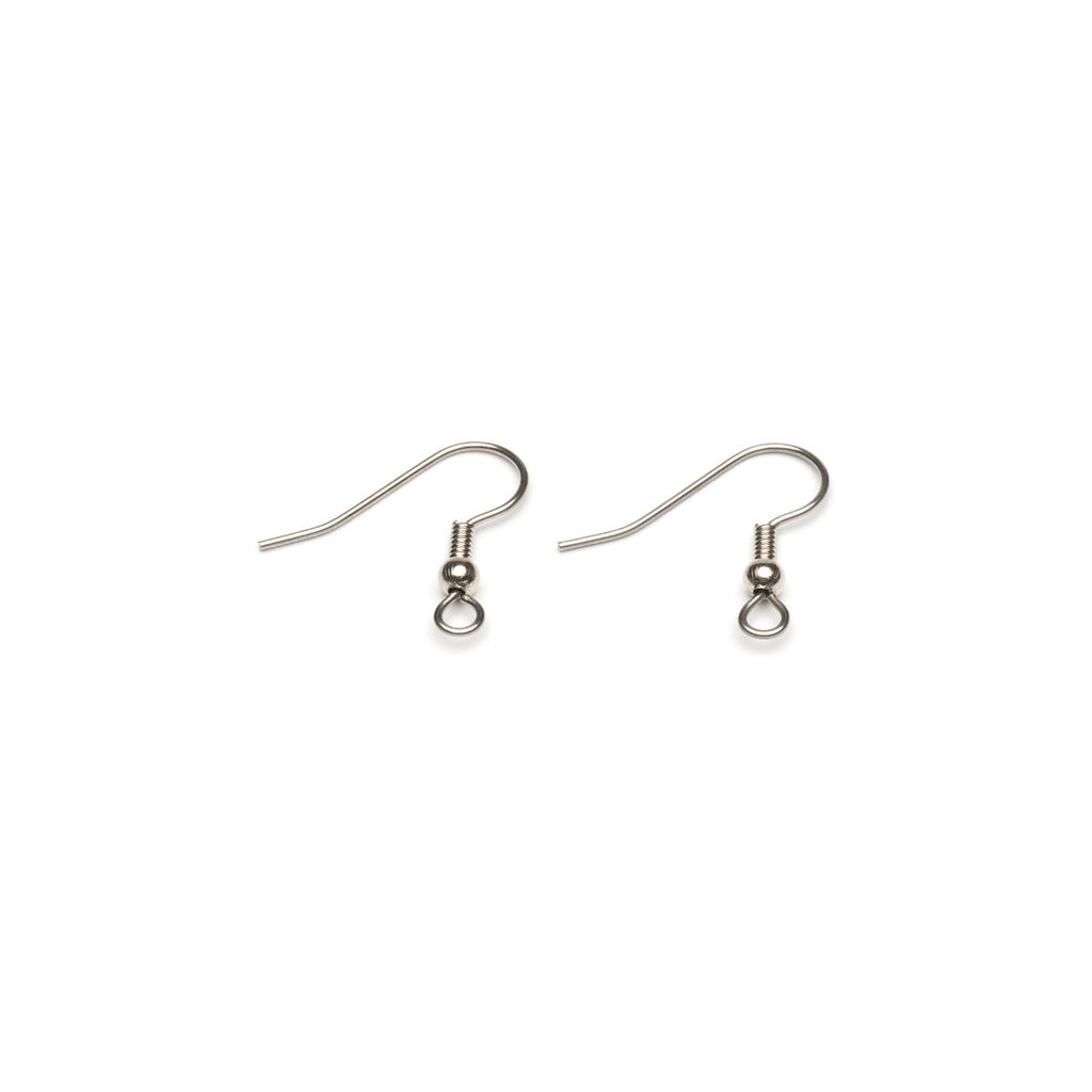 Stainless Steel French Hook Wire With Ball Accessory - 1 Pair - Simply Whispers