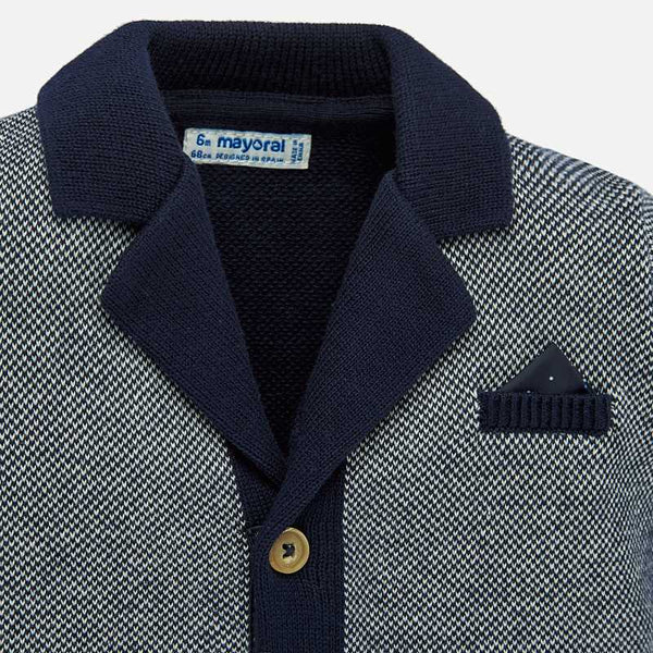 1455 Navy Stitch Jacket