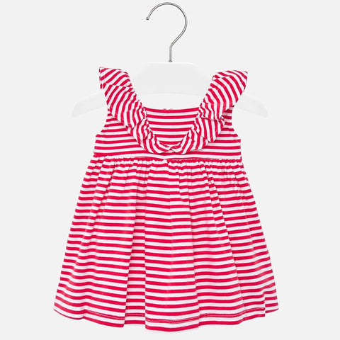 1940 Watermelon Stripe Knit Dress