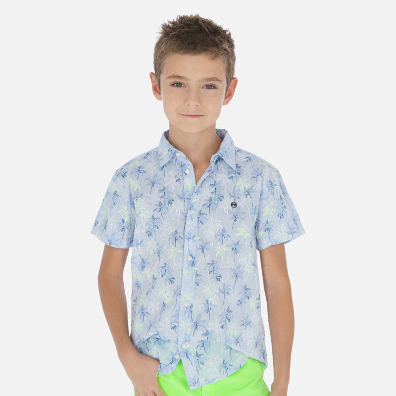 6149 Palm Collared Shirt
