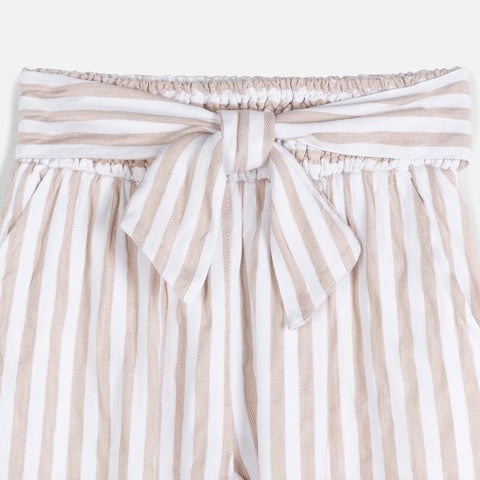 6534 Linen Striped Pants