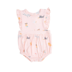 Pink Puppy Play Sunsuit