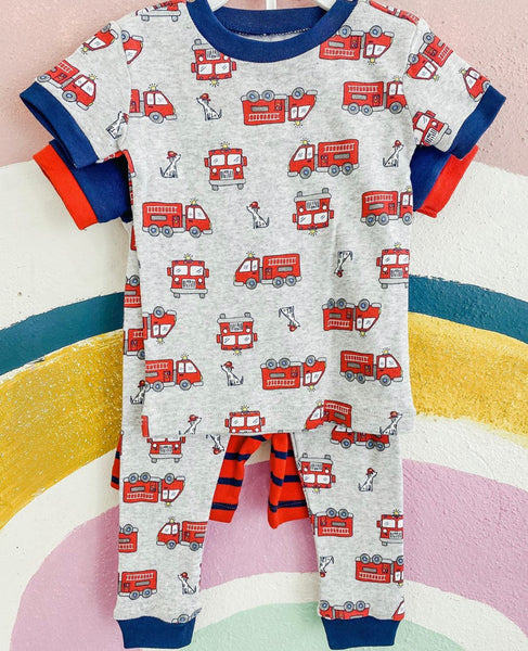 Infant Fire Truck PJ Set