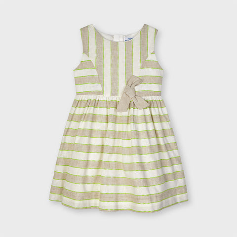3919 Linen Stripes Dress