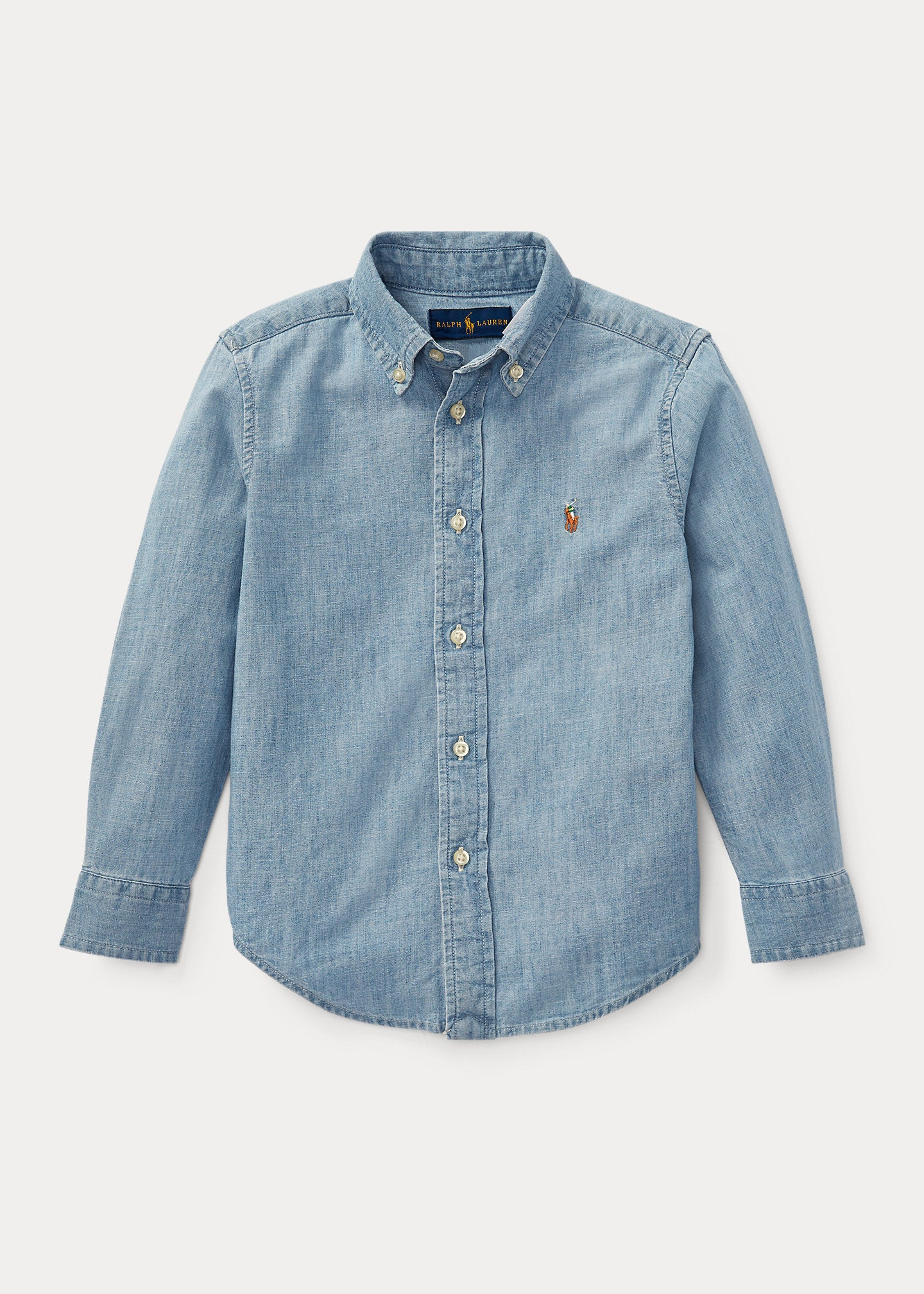Chambray L/S Button Up