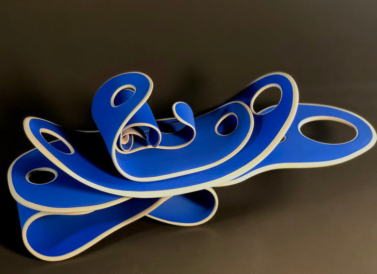 Cantilever in Blue by Licia McDonald