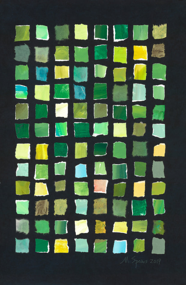Color Theory: Green by Mary Spears
