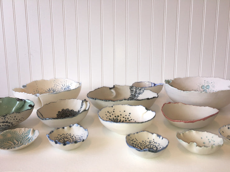 Lemuria Bowls by Zoe Johnson