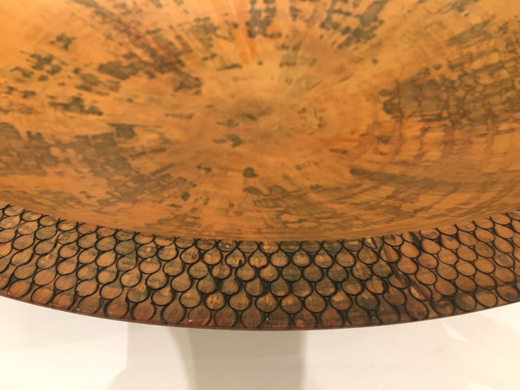Norfolk Pine Bowl by Cliff Johns