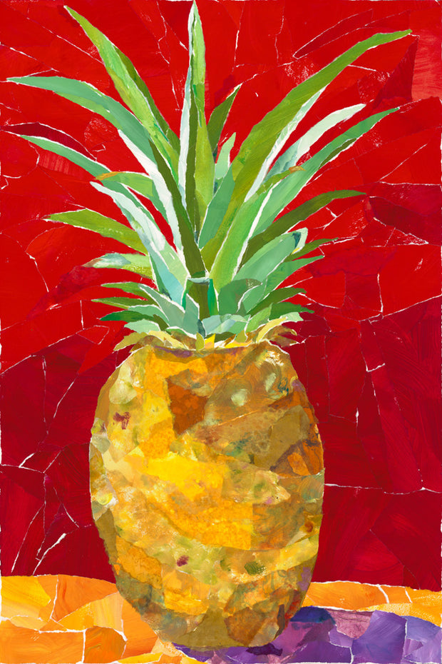 Love Pineapple by Mary Spears