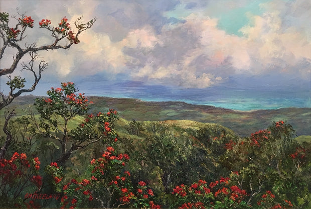 Ohia Lehua Forest by Betty Hay Freeland