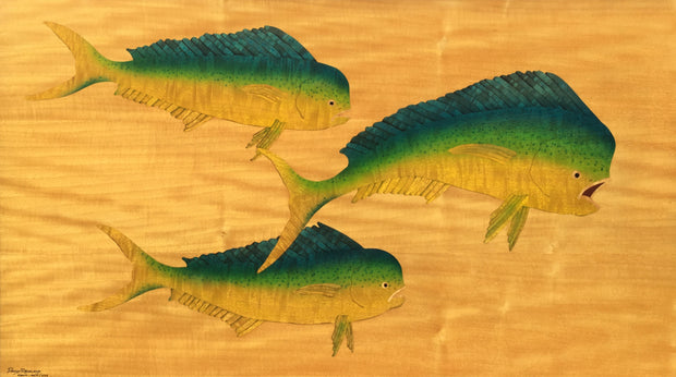 Three Mahi by David Reisland