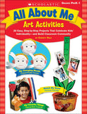 All About Me Art Activities (4748939755616)