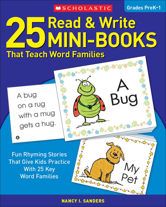 25 Read & Write Mini-Books That Teach Word Families (4633089769568)