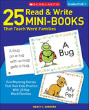 25 Read & Write Mini-Books That Teach Word Families