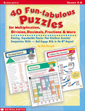 40 Fun-tabulous Puzzles for Multiplication, Division, Decimals, Fractions, & More (4748939460704)