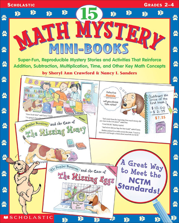 15 Math Mystery Mini-Books (4748938707040)