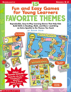 15 Fun & Easy Games for Young Learners: Favorite Themes (4748938543200)