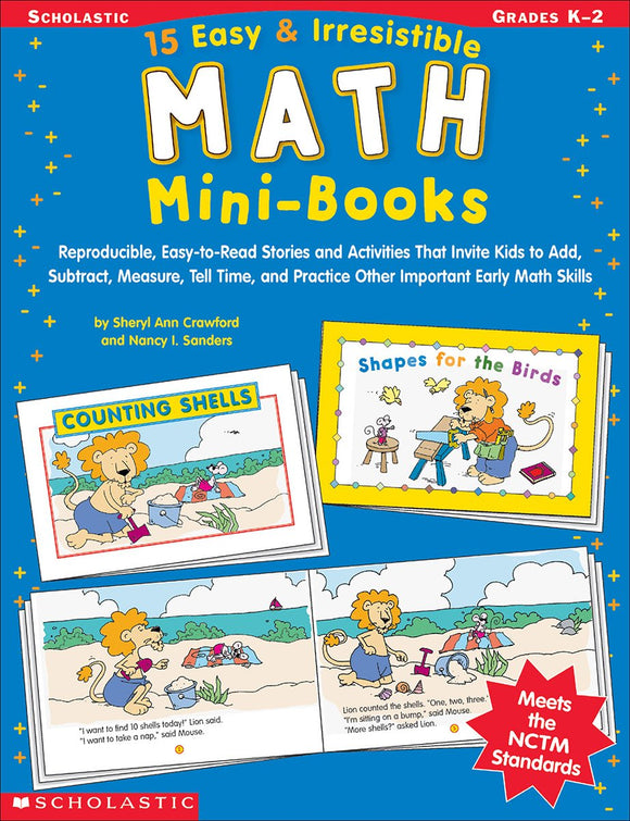 15 Easy & Irresistible Math Mini-Books (4748938444896)