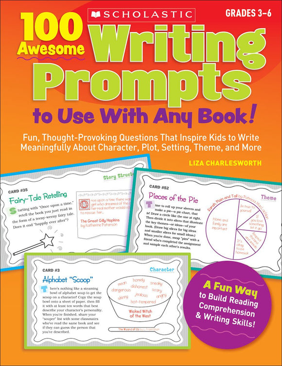 100 Awesome Writing Prompts to Use With Any Book! (4748938313824)