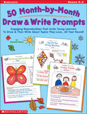 50 Month-by-Month Draw & Write Prompts (4632387387488)