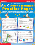 A to Z Letter Formation Practice Pages (4632387649632)