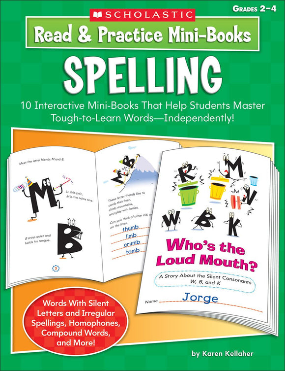 Read & Practice Mini-Books: Spelling