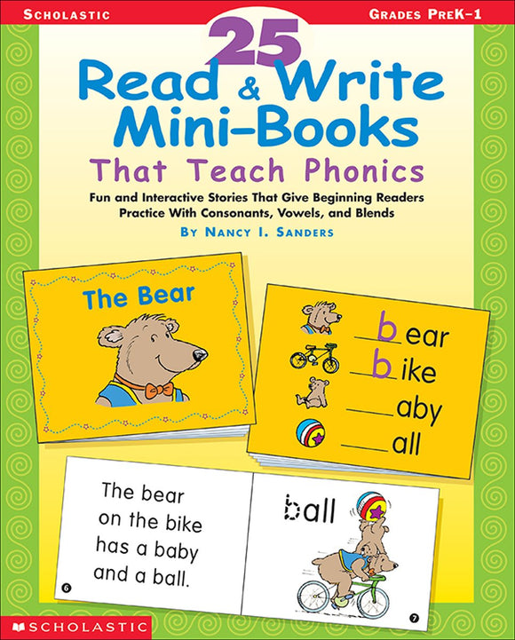 25 Read & Write Mini-Books That Teach Phonics (4748939034720)