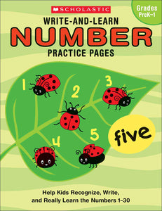 Write-and-Learn Number Practice Pages (4632388239456)