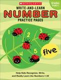 Write-and-Learn Number Practice Pages