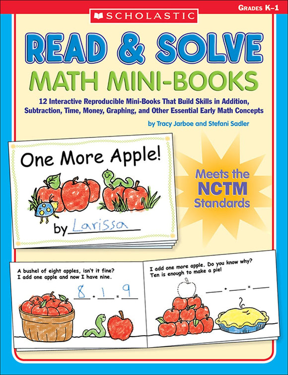 Read & Solve Math Mini-Books