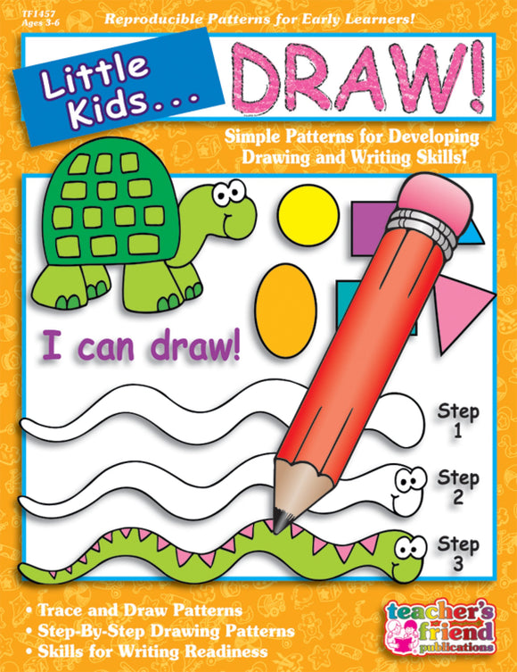 Little Kids…Draw!