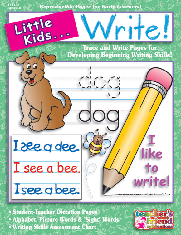 Little Kids…Write!