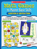 Math Games to Master Basic Skills: Addition & Subtraction (4632389681248)