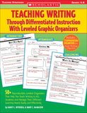 Teaching Writing Through Differentiated Instruction with Leveled Graphic Organizers (4632390074464)