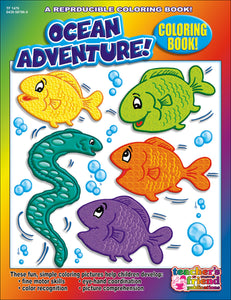 Ocean Adventure! Coloring Book (4632444502112)