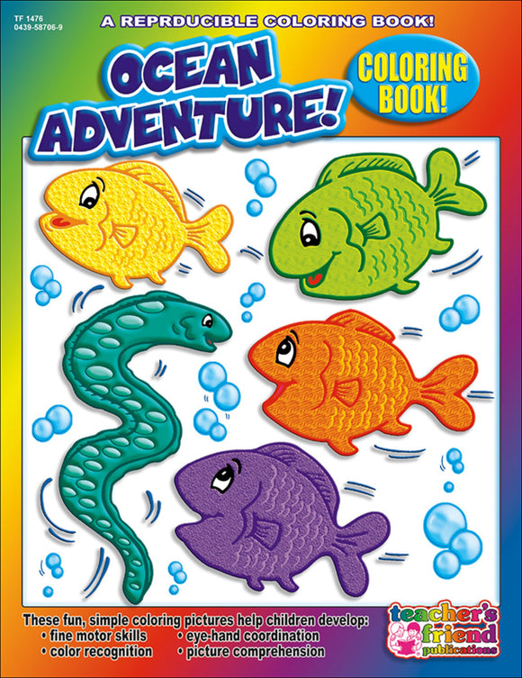Ocean Adventure! Coloring Book
