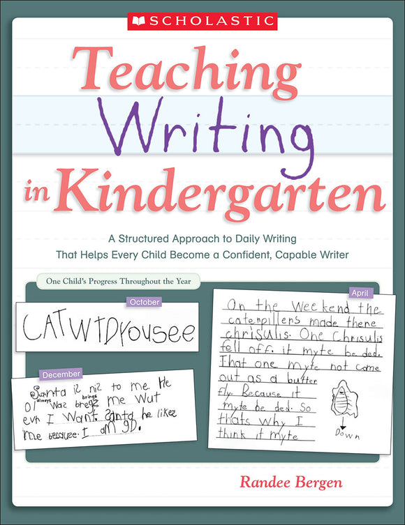 Teaching Writing in Kindergarten (4632391286880)