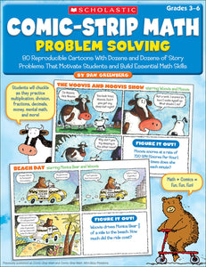 Comic-Strip Math Problem Solving (4632392761440)