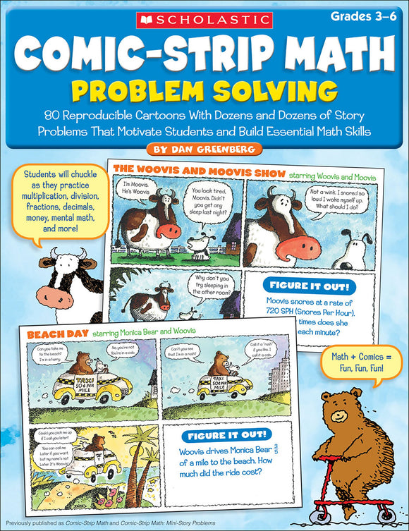 Comic-Strip Math Problem Solving