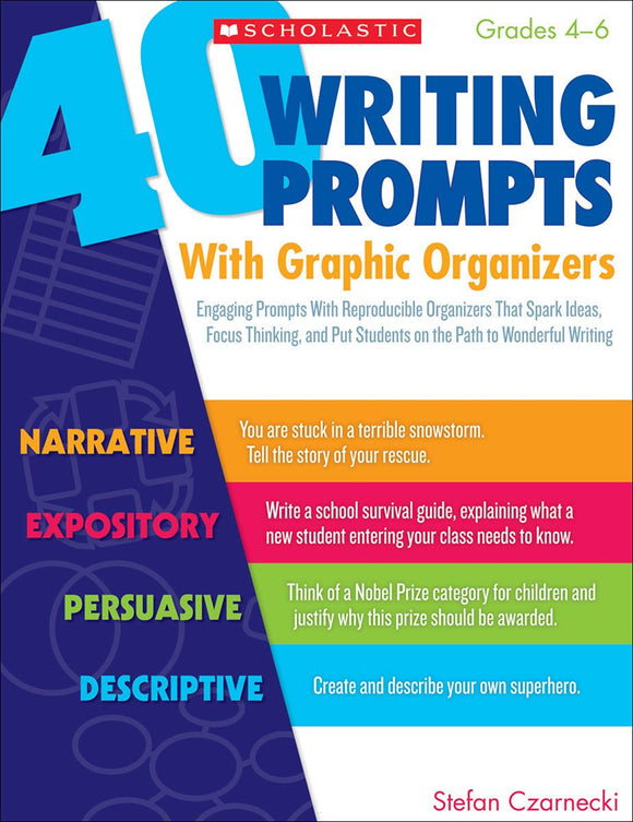 40 Writing Prompts With Graphic Organizers (4748939493472)