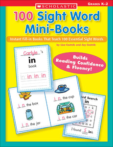 100 Sight Word Mini-Books (4632393220192)