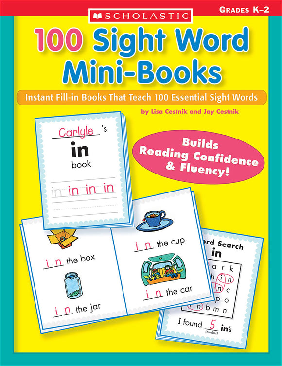 100 Sight Word Mini-Books