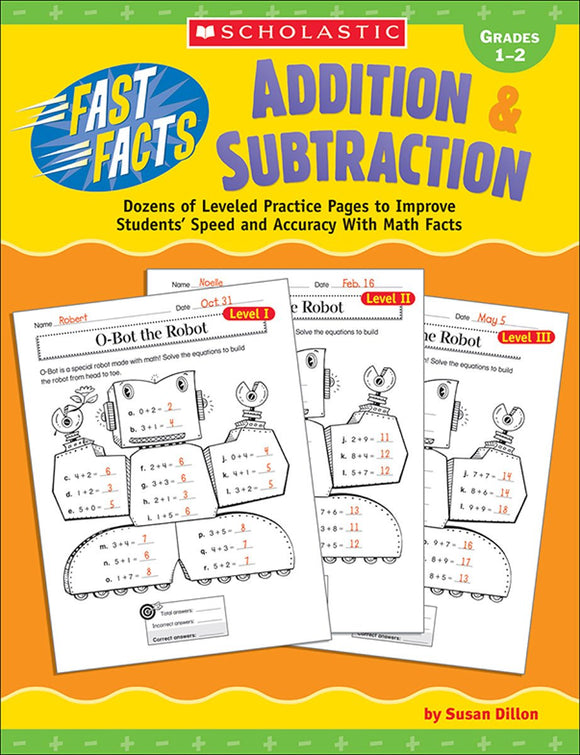 Fast Facts: Addition & Subtraction