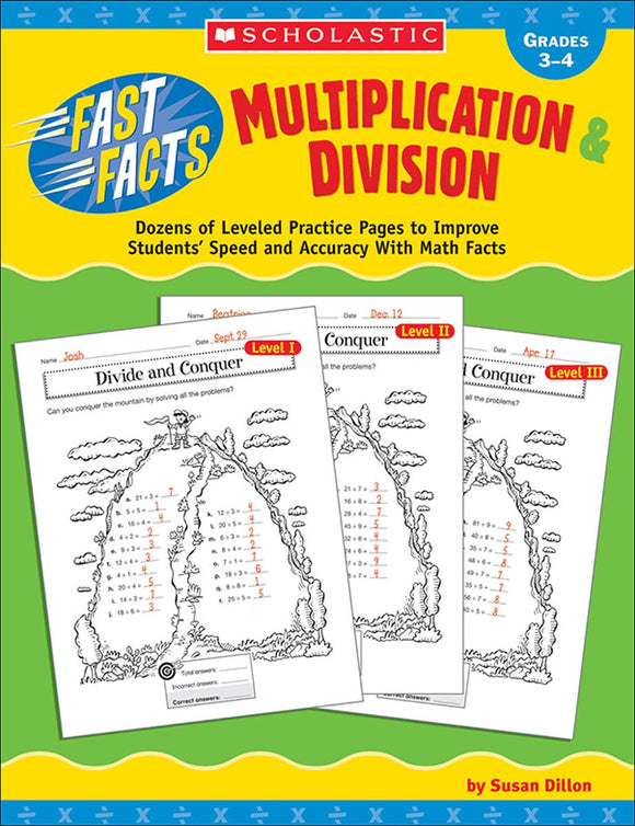 Fast Facts: Multiplication & Division