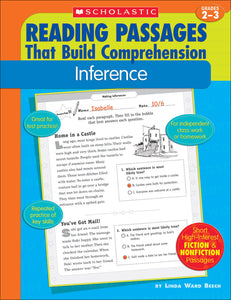 Reading Passages that Build Comprehension: Inference (4632394498144)
