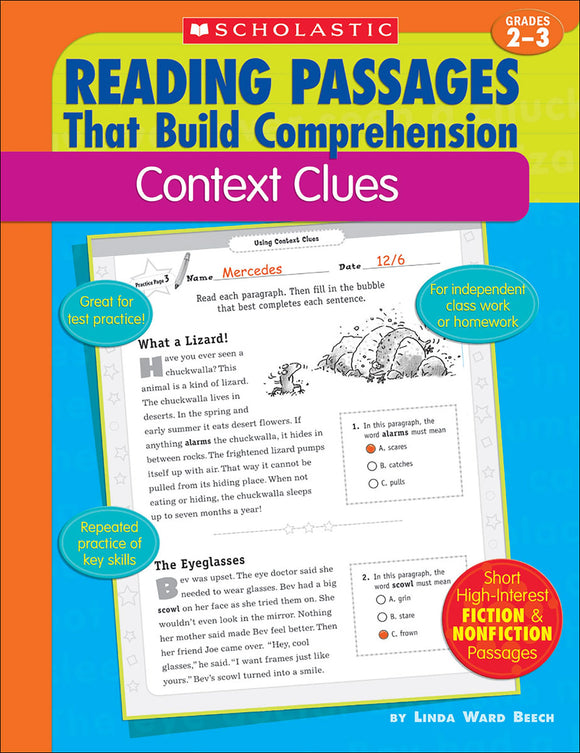 Reading Passages That Build Comprehension: Context Clues (4632394891360)