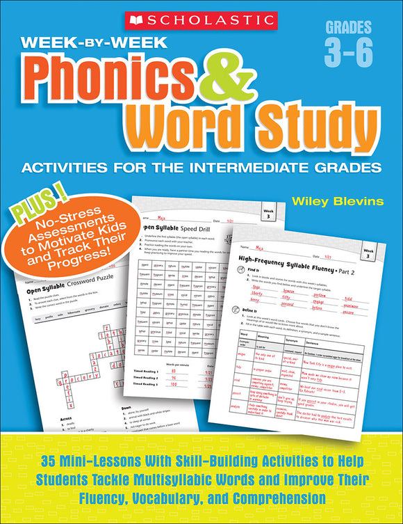 Week-by-Week Phonics & Word Study (4632397086816)